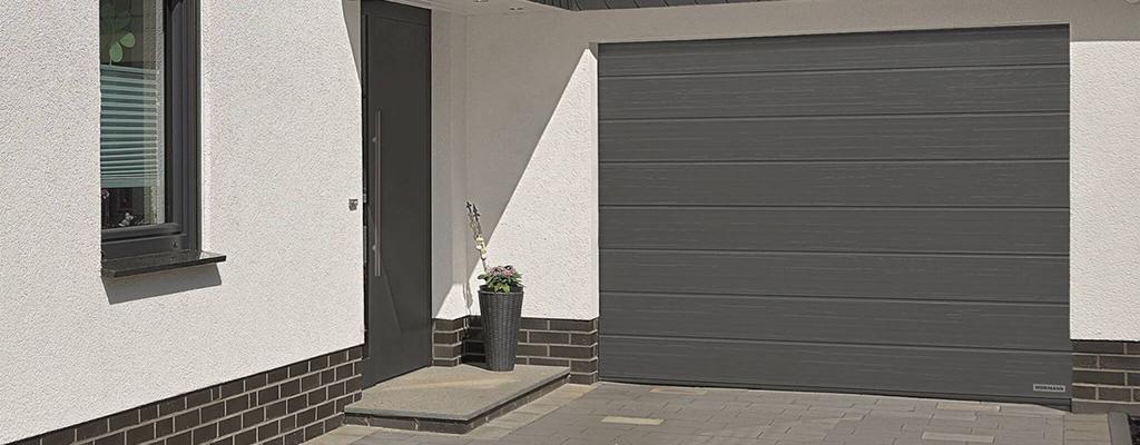 Новая стильная поверхность для ворот Slategrain от Hormann доступна для заказа